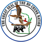 The Great Seal of the Ho-Chunk Nation.