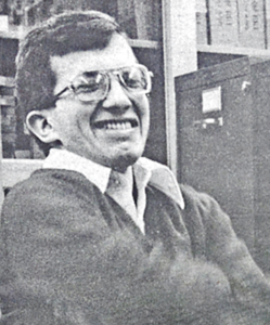 Portrait of Steven Krauth, former curator of the WIRC.